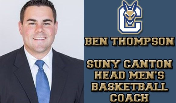 Ben Thompson Named Head Basketball Coach at SUNY Canton - HoopDirt
