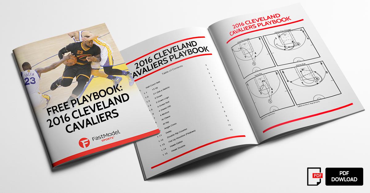 Free Playbook  NBA Champion Cleveland Cavaliers 52e48b63c
