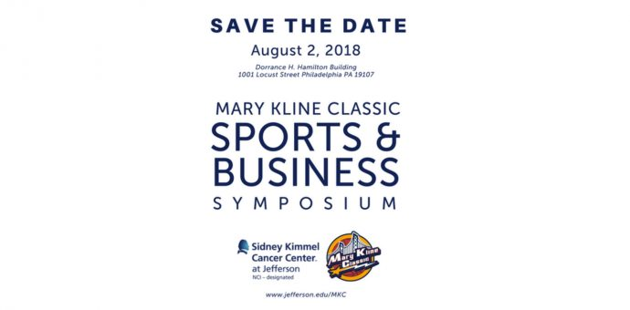 Business Symposium In Partnership With The Sidney Kimmel Cancer Center And Thomas Jefferson University Will Bring Together
