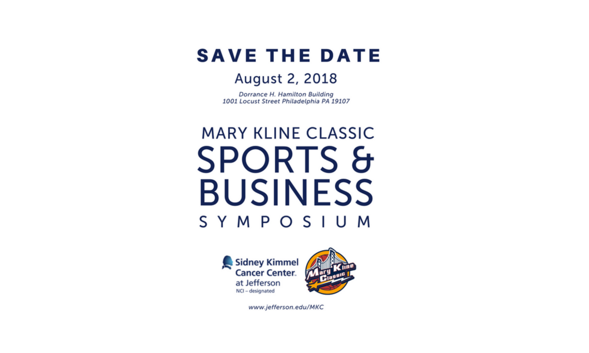 hoopdirt.com - Mary Kline Classic Sports & Business Symposium - August 2nd - Philadelphia, PA