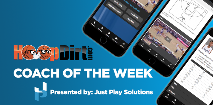 7e22b9ed4019 Week 14  HoopDirt.com Coach of the Week presented by Just Play Solutions